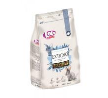EXTRIMO kompletné krmivo pre králiky v sáčku so zipsom 750 g