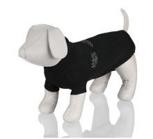 Čierny sveter King of Dogs TRIXIE