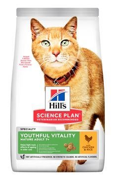 Hill 'Feline Dry Adult7 + Youthful Vitality Chicken