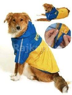 Obleček SPORT Žltá / Modrá s kapucňou 2V1 KARLIE