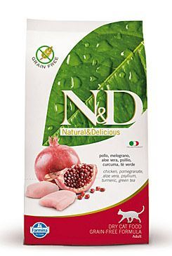 N & D Grain Free CAT Adult Chicken & Pomegranate