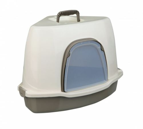WC ALVARO kryté rohové s dvířky 55x42x42/42 krém/taupe