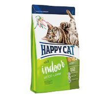 Happy Cat Supr.Indoor Fit & Well Weide-Lamm 10kg