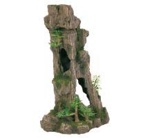 Dekorácie jaskýň s rastlinami 28,5cm