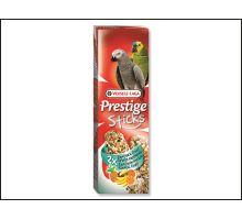 Tyčinky Prestige exotické ovocie pre veľké papagáje 140g
