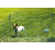 Ohrádka kovová pre psa Dog Park 1 VÝPREDAJ
