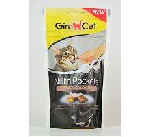 Gimcat Nutri pockets hydinové s biotínom 60g