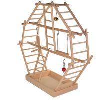 Drevený pľac pre vtáky 44x44x16cm TRIXIE