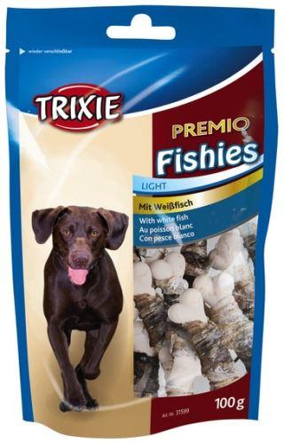 PREMIO Fisheis - kalciová kosť obtočené rybie kožou 100 g