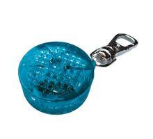 Blikacie prívesok pre psov 3,5cm modrý, až 300m TRIXIE
