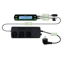 Digitálny termostat / hydrostat, dva okruhy 16x4 cm