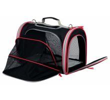 Cestovní taška MASSIMO, rozložitelná 25x28x39cm černo/šedá