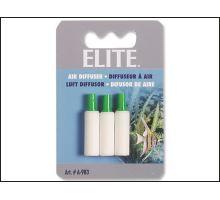 Kameň vzduchovací valec Elite biely 3 cm 3ks