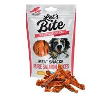 Brit Let 's Bite Meat Snacks Pure Salmon Slices 80g