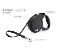 Vodítko FLEXI Classic Compact 2 (M) 5m/25kg Pásek