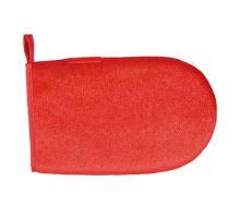 Rukavice na odstránenie chlpov, obojstranná, červená