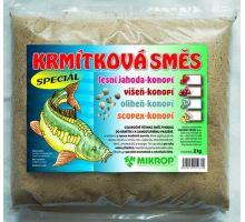 Krmítková zmes kalmáre - konope 2kg