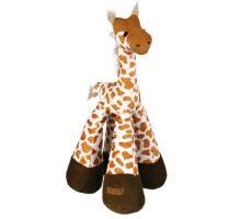 Hračka pre psov Žirafa pískacie plyšová
