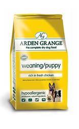Arden Grange predĺženej dojčenskej / Puppy rich in fresh Chicken & Rice