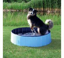 Bazén pro psy 120 x 30 cm světle modrá/modrá VÝPREDAJ