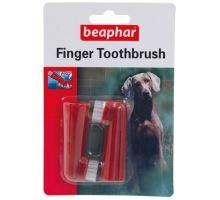 Beaphar Zubná kefka na prst pes