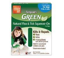 Sergeanťs Green spot on pre psov do 12kg 3x2, 5ml