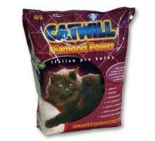 Podstielka Catwill Diamond Power mačka pohlc. pach3, 8l