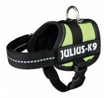 Julius-K9 silový postroj limetkovo zelená