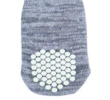 Protišmykové šedé ponožky, 2 ks pre psy
