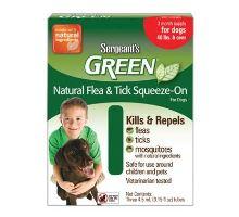 Sergeanťs Green spot on pre psov nad 30kg 3x5ml