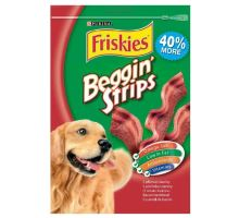Friskies pochúťka pes Snack Beggin Strips bacon 120g