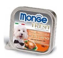 MONGE FRESH paštéta a kúsky s morkou 100 g pre psy
