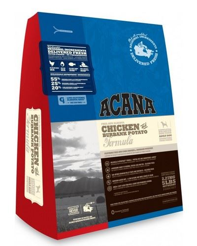 Acana Heritage Dog Chicken&Burbank Potato