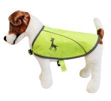 Alcott reflexní vesta pro psy žlutá, velikost L