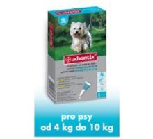 Advantix pre psov spot.on. od 4-10kg 1x1ml