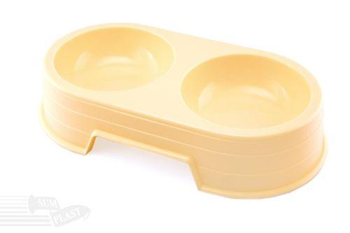 Dvojmiska SUM PLAST 30,6 cm/0,6 l