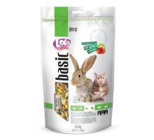 Lolo BASIC ovocné krmivo pre králiky a škrečky 600g doypack