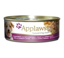 Applaws dog chicken, ham & zelenina 156g