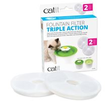 Náplň filtračné CATIT 2.0 Triple Action 2ks