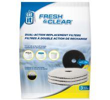 Náplň uhlíkový molitan do menšej fontány CAT IT Fresh & Clear 3ks