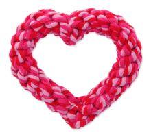 Hračka DOG FANTASY srdce 11 cm 1ks