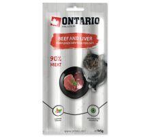 ONTARIO stick beef & liver 15g
