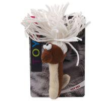 MAGIC CAT červík bavlnený plyšový mix 13,75 cm 1ks