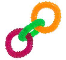 3 kruhy gumové farebné 16 cm