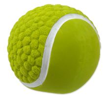 DOG FANTASY Latex loptu tenisový so zvukom 7,5 cm 1ks