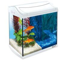 Akvárium set TETRA AquaArt LED Goldfish biele 35 x 25 x 35 cm 30l