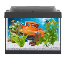 Akvárium set TETRA PLAYMOBIL LED čierne 41 x 30 x 25 cm 30l